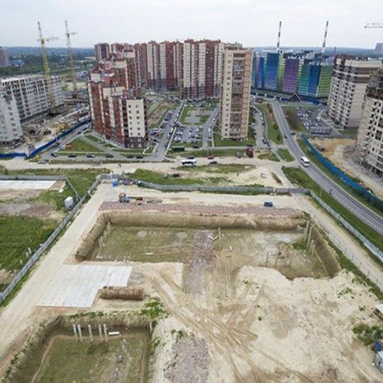 ЖК Северный ход строительства август 2018